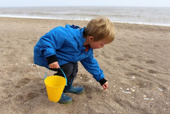 Anderby Creek beach fun in Lincolnshire this summer