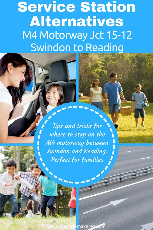 M4 Motorway Jct 15-12 Swindon to Reading