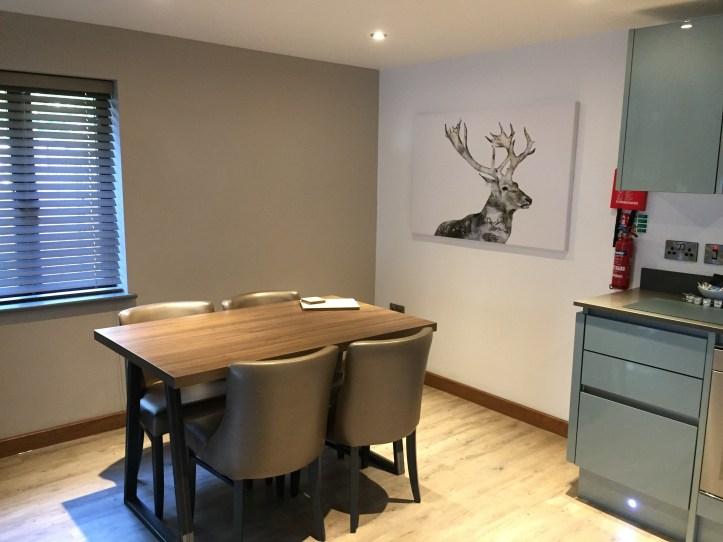 Beyond escapes luxury lodges in Devon - dinging area