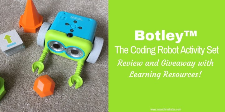 Botley™ the Coding Robot Review and Giveaway with Learning Resources
