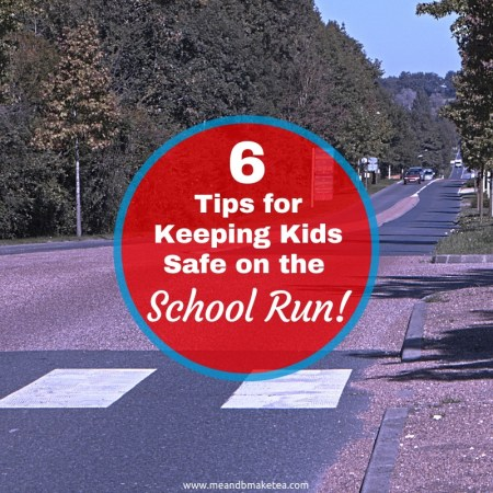 School Run -tips and tricks for keeping kids safe