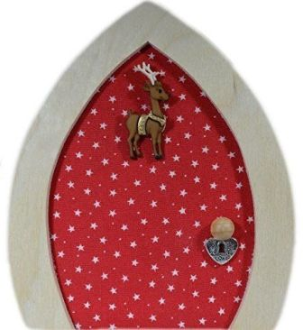 Elf on the Shelf skirting board door