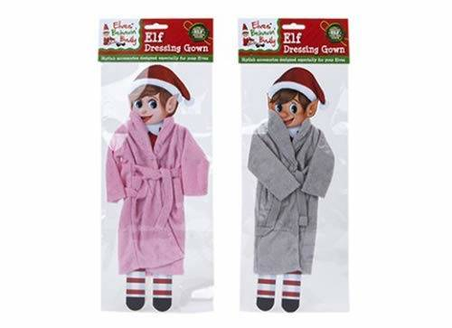 Elf on the Shelf dressing gown set his and hers