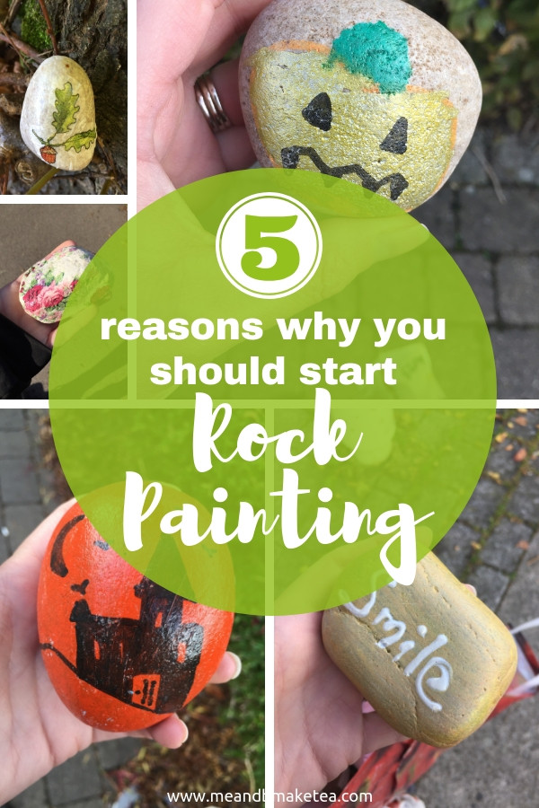reasons to start rock painting