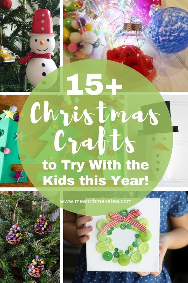 christmas crafts to make with children over the holidays