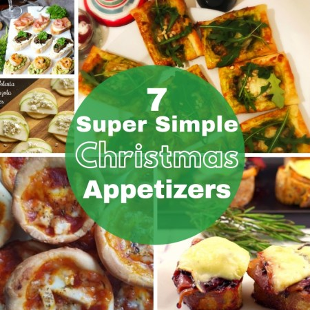 7 super simple christmas party food, appetizer and canape ideas to delight your guests and any crowd with.