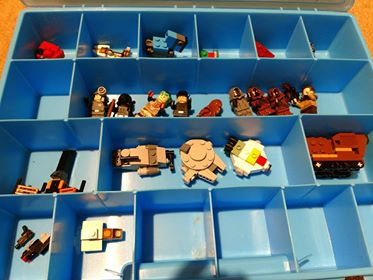 lego storage ideas and hacks using IKEA