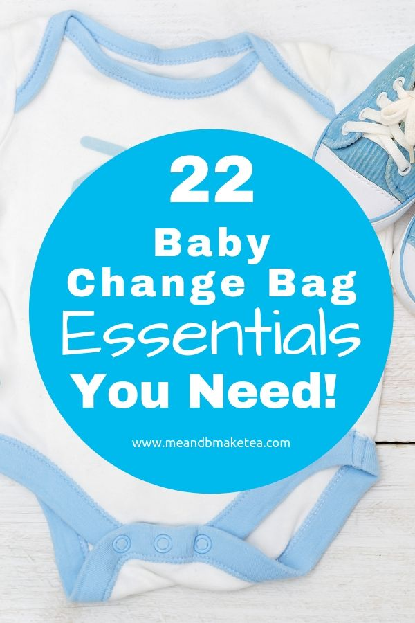 Baby change bag essentials you might not have thought of. What to pack for your baby - beyond diapers and wipes.