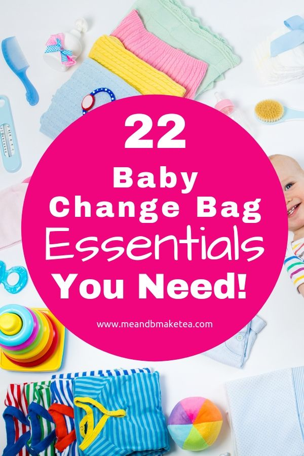 Baby change bag essentials you might not have thought of.