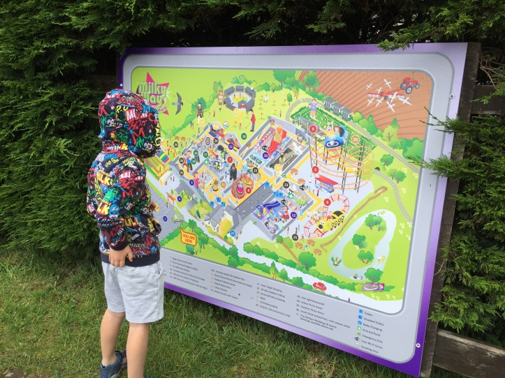 the milky way adventure park in devon map