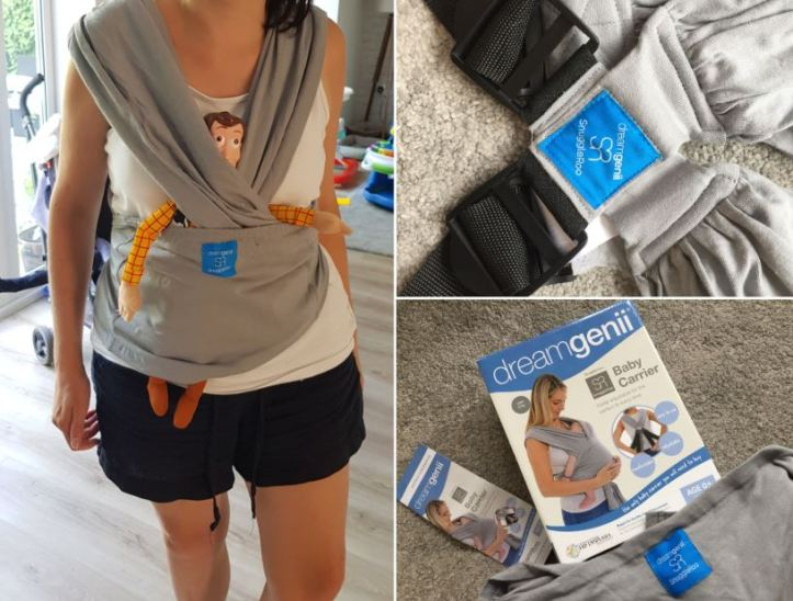 dreamgenii baby carrier review