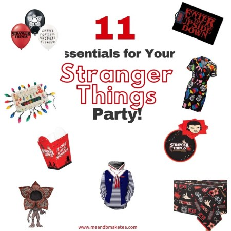 11 Ideas for Your Stranger Things Themed Halloween Party!