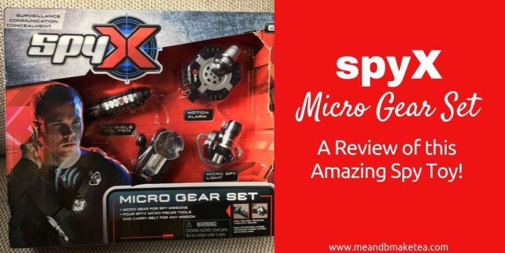 spyx micro gear spy set in box - twitter header