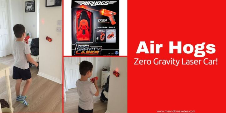 air hogs zero gravity remote control car - toy review - twitter image
