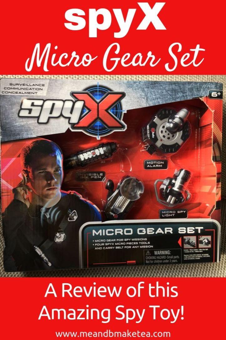 spyx micro gear spy set in box