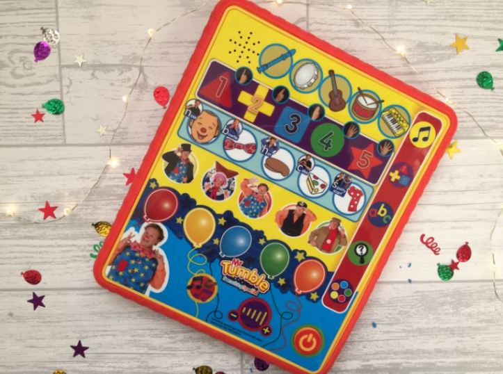 mr tumble something special learning pad gift guide and review tablet