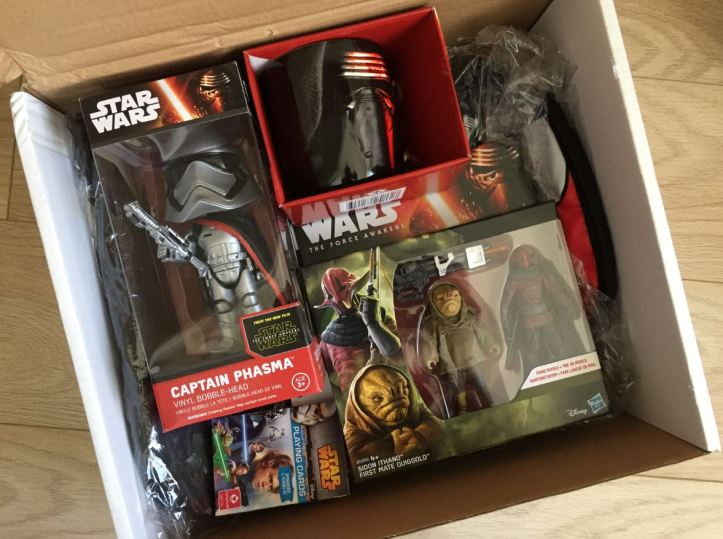 the amazing mystery box star wars collectibles and items