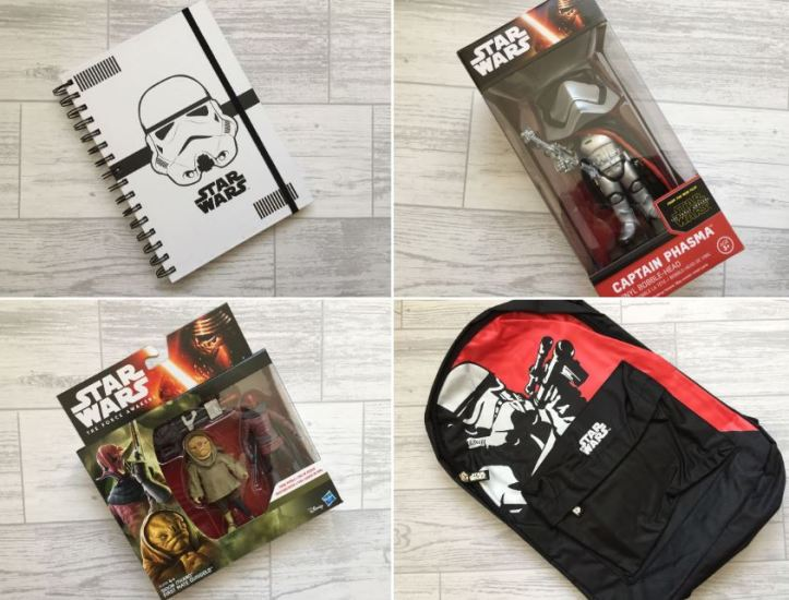 the amazing mystery box star wars review - star wars items