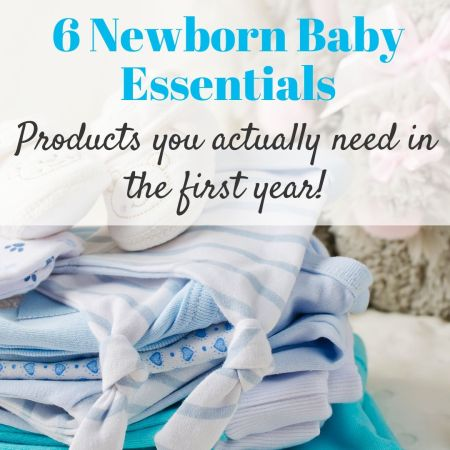 essential newborn baby products and items you need