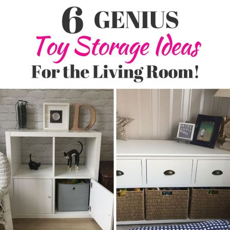genius ideas for toy storage in your living room or lounge