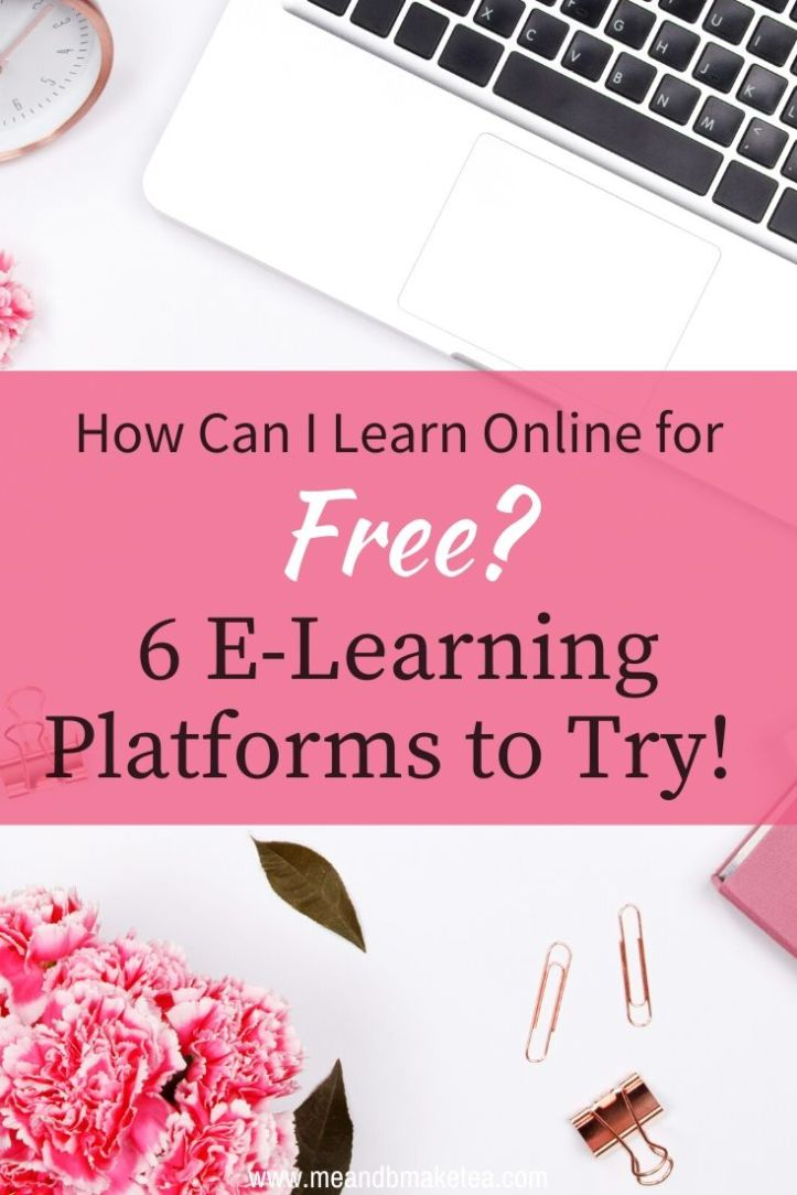 ideas and websites for where to take free courses for online learning