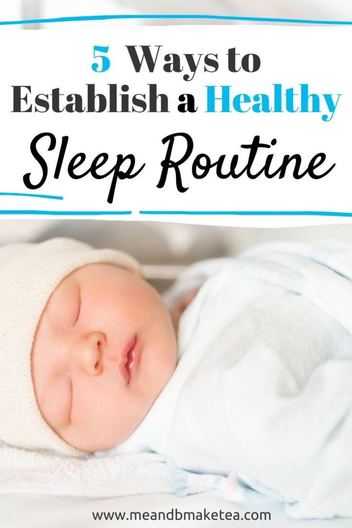 How We've Established a Healthy Sleep Routine with our Baby