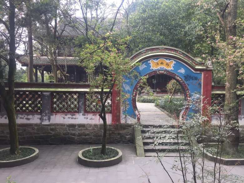 Archways in Dujiangyan