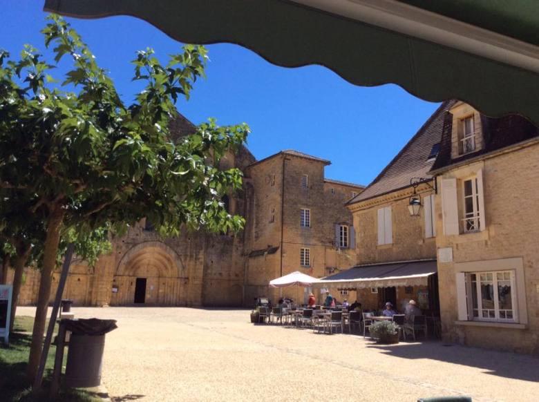 Market town in the Périgord