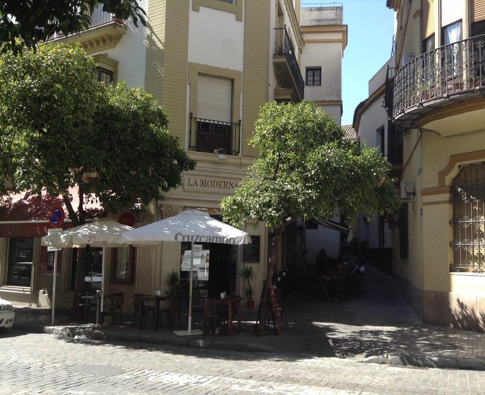 Chasing flamenco in seville
