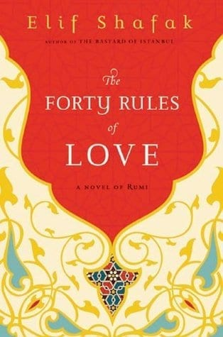 Travel reading: The 40 Rules of Love, a novel of Rumi by Elif Shafak. A No