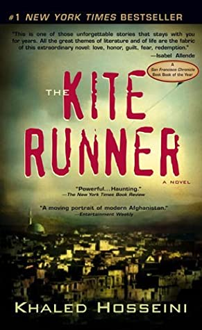 Travel reading: The Kite Runner, a novel by Khaled Hosseini.