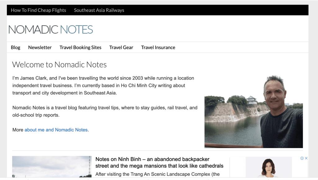 Nomadic Notes Screenshot