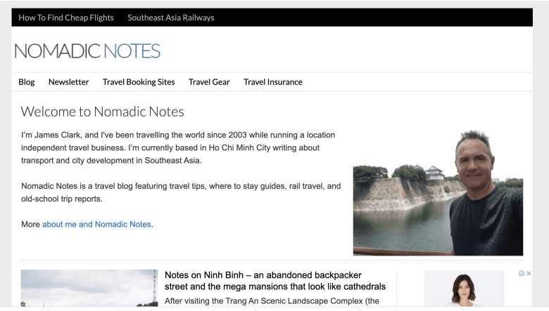 Nomadic Notes Screenshot