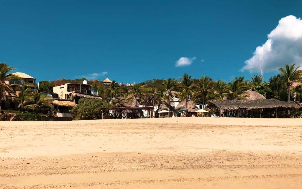 Playa san Agustnillo, Oaxaca