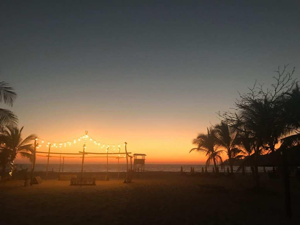 Sunset, Playa Zicatela Puerto Escondido