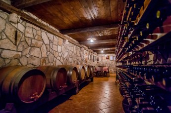 Family wine cellar in Montenegro