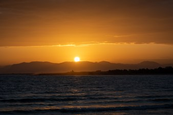 A sunrise in San Vito Lo Capo Italy (Siciliy)
