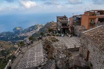 The beautiful Castelmola Italy (Sicily)