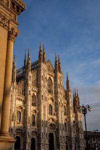 The Duomo in Milan Italy