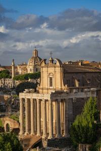 The Roman Forum in Rome Italy