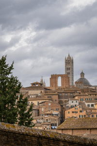 A view from the beautiful Sienna Italy