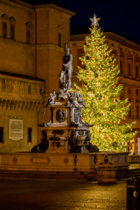 Christmas time in Bologna Italy
