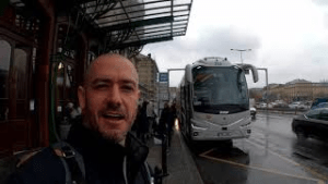 Video – A bus ride from Prague to Nuremberg, with a quick look in Nuremberg
