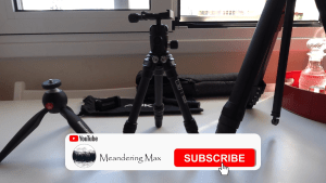 Video – Tripods for travelers