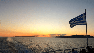 Video – Ferry from Athens to the Dodecanese island of Leros on June 12, 2020 (Greece)