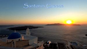 Video – Time-lapse of a beautiful Santorini summer sunset