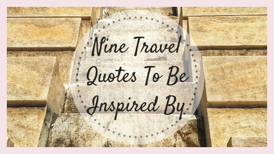 Image of: Places Nine Travel Quotes To Be Inspired By Quotes Square Personal Archives Meandering Mercedes