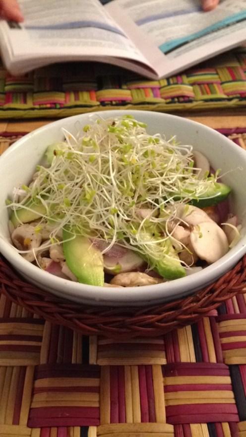 Mushroom Ceviche