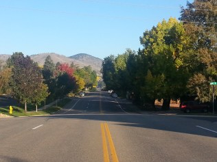 Fall colors were alive in Golden when we returned to Colorado