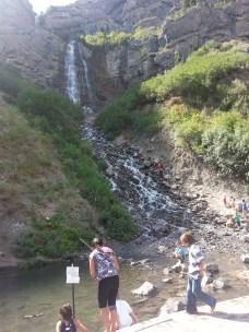 Roberta was not alone at the Falls!